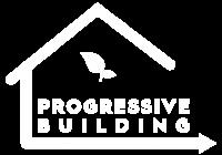 PROGRESSIVE BUILDING logo white